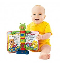 Libro interactivo de aprendizaje fisher price