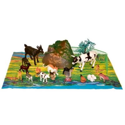 Animales de granja 22 piezas