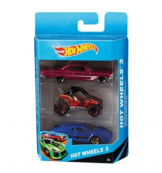 Pack 3 coches hot wheels