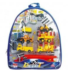 Conjunto vehículos en bolsa (2 surt. construcción