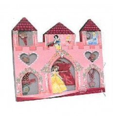 Caja castillo princesas