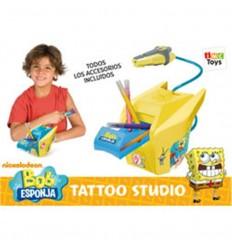 Centro de tatuajes bob esponja