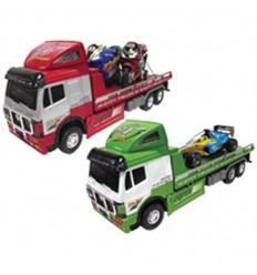 Trailer con moto o f1 (2 modelos)( precio unidad)