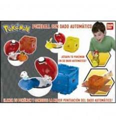 Pokemon poke ball con dado automatico