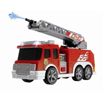 Camión bomberos 15 cm con luz y sonido
