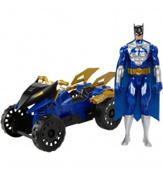 Figura y vehiculo batman y su todoterreno attack