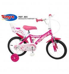 Bicicleta 14 pulg. fantasy