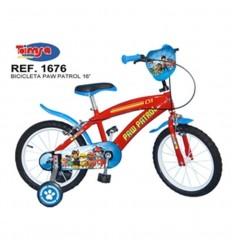 Bicicleta 16 pulg. Paw Patrol