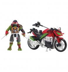 Tortuga ninja movie 2 moto + figura raphael