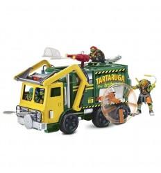 Tortuga ninja movie 2 camion + figura
