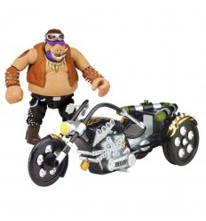 Tortuga ninja movie 2 moto + figura bebop