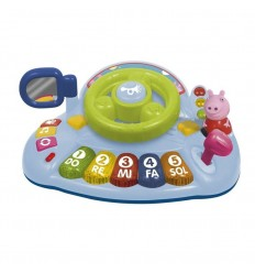 Activity piano volante con figura peppa pig