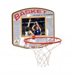 Tablero madera basket grande c/aro metal