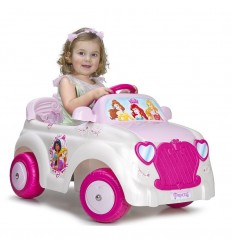 Coche disney princess car 6v