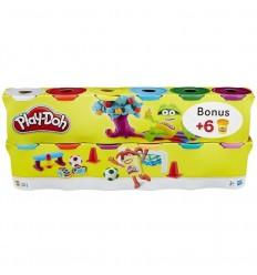 Playdoh pack 6 + 6 botes