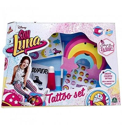 Soy Soy Luna tatoo set