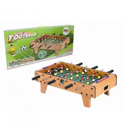 Futbolín de madera