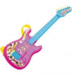 Guitarra electrica c/conexion mp3 soy luna