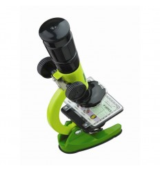 Microscopio animal planet 100x-1200x con maleta