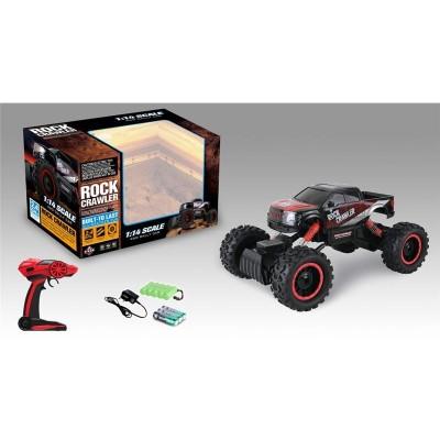 4x4 radio control rock crawler 1:14 con batería