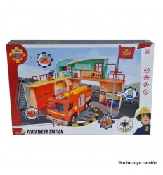 Fireman sam nueva estacion con figura