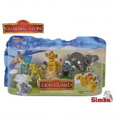 Lion guard set 5 figuras