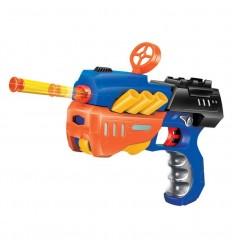 Pistola lanza dardos suaves 2 surt