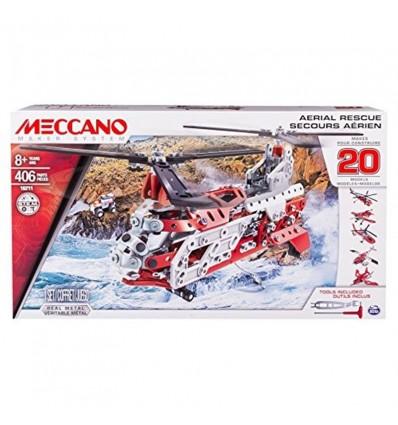 Meccano 20 modelos - helicoptero