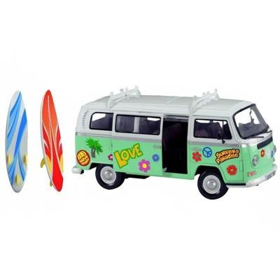 Caravana surfera wolksvagen 32 cm con stickers