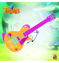 Guitarra electronica con micro trolls