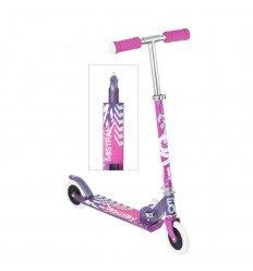 Patinete evo plegable rosa