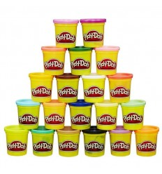 Playdoh pack supercolor 20 botes
