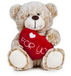 """Oso Corazón """"FOR YOU"""" 38 cm"""