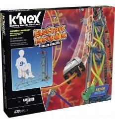 Knex montaña rusa electric inferno, set con 644 p)