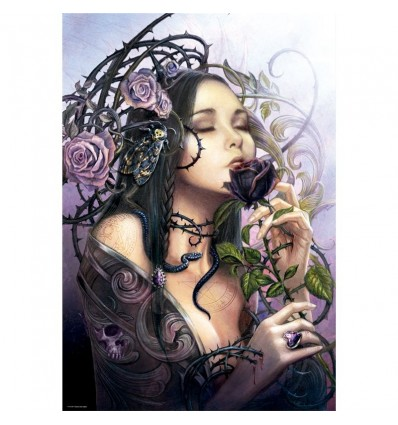 Puzzle 1000 the midnight rose