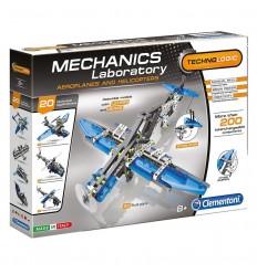 Laboratorio de mecanica: aviones y helicopteros