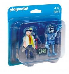 Duo pack cientifico y robot