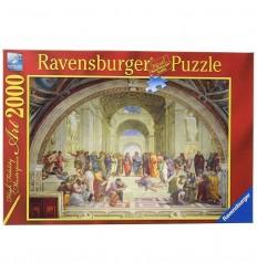 Puzzle 2000 pz art rafael: la escuela de atenas