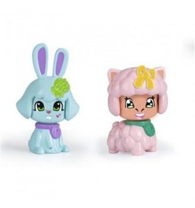 Pinypon pack 2 mascotas: Conejo y Oveja