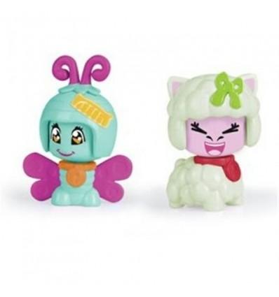 Pinypon pack 2 mascotas: Mariposa y Oveja
