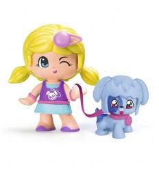 Pinypon figura con mascota perro