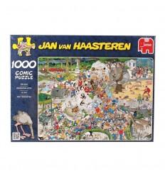 Puzzle 500 comic-el zoo- jan van haasteren