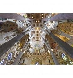 Puzzle 1000 sagrada familia barcelona- jumbo