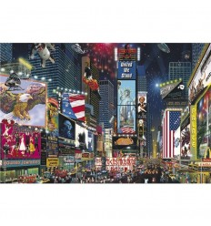 Puzzle 1500 times square new york- jumbo
