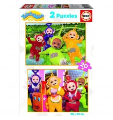 Puzzle 2x20 teletubbies