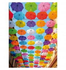 Puzzle 500 pz lluvia de colores