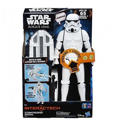 Star wars ro hero series inteactive fig.