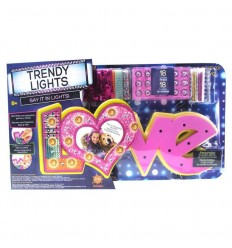 Trendy lights room light-love