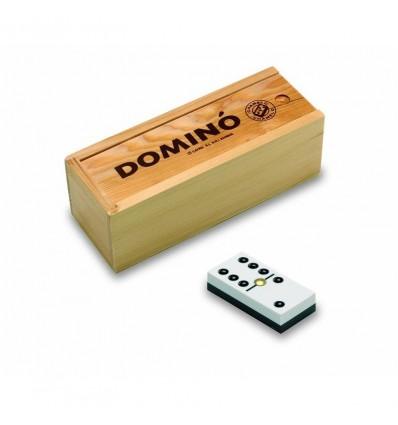 Domino chamelo en caja de madera