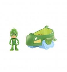Vehículos pj masks gekkomovil y gekko
